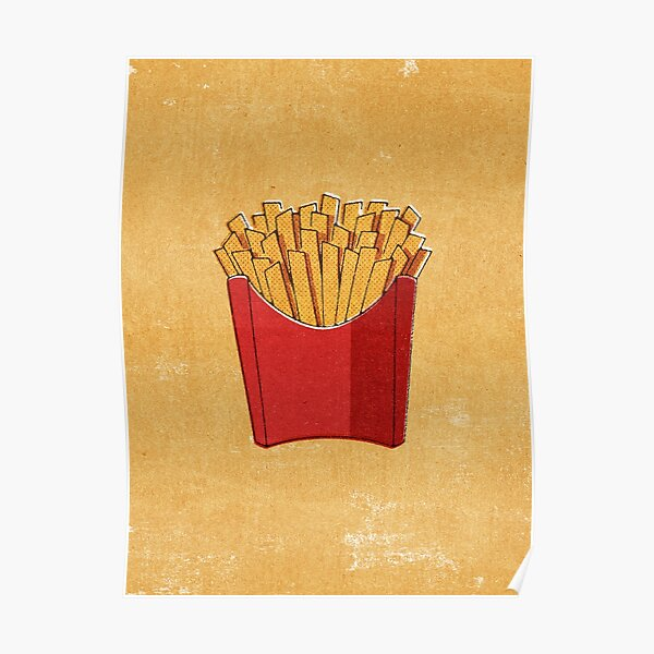 FAST FOOD / Fries Poster