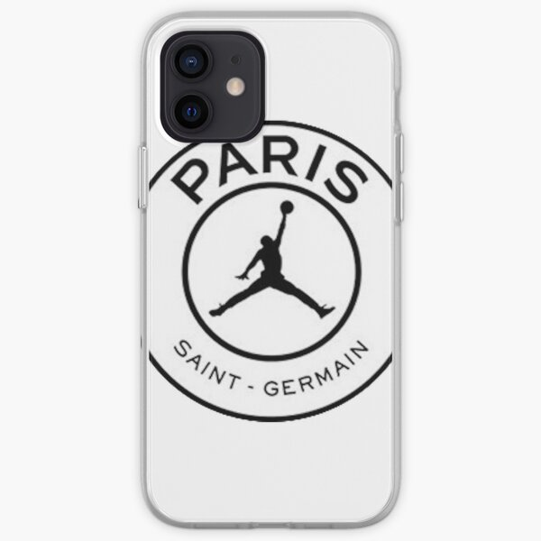Copia de PSG Collab Funda blanda para iPhone