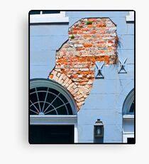 French Quarter Facade Canvas Print