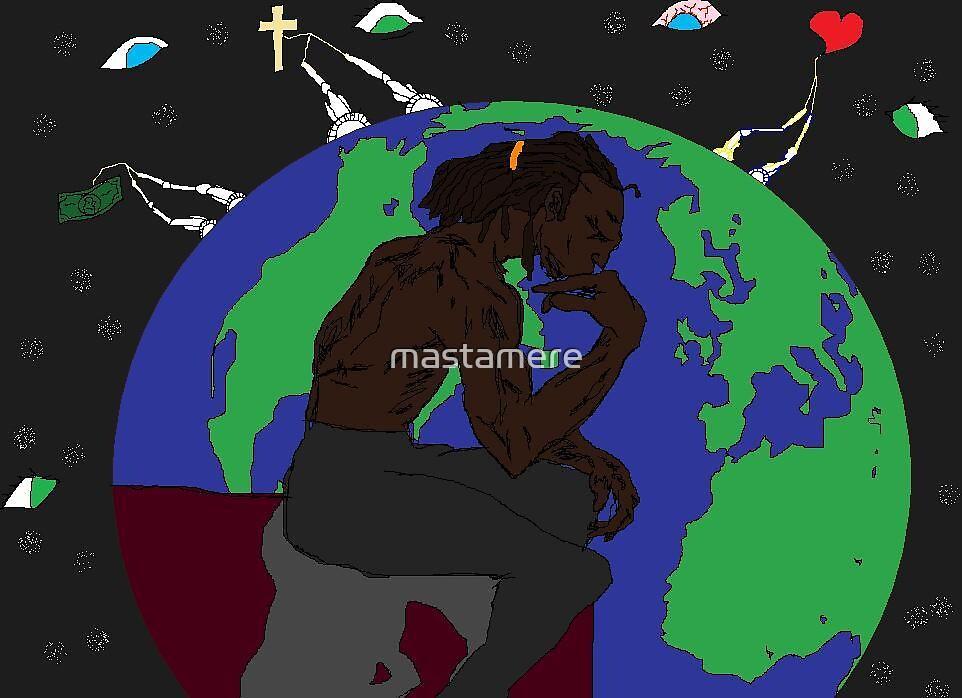 As thee Black Man Thinketh by mastamere