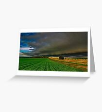 """""""Here It Comes"""" Greeting Card"""
