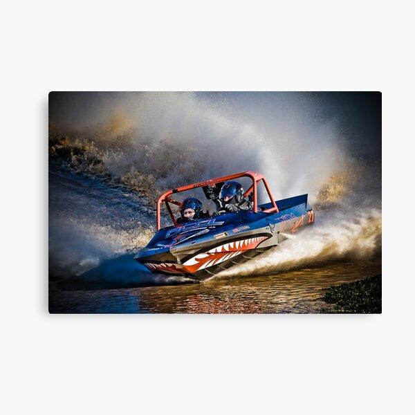 """Az-U-Do"" - V8 Jetboat Canvas Print"