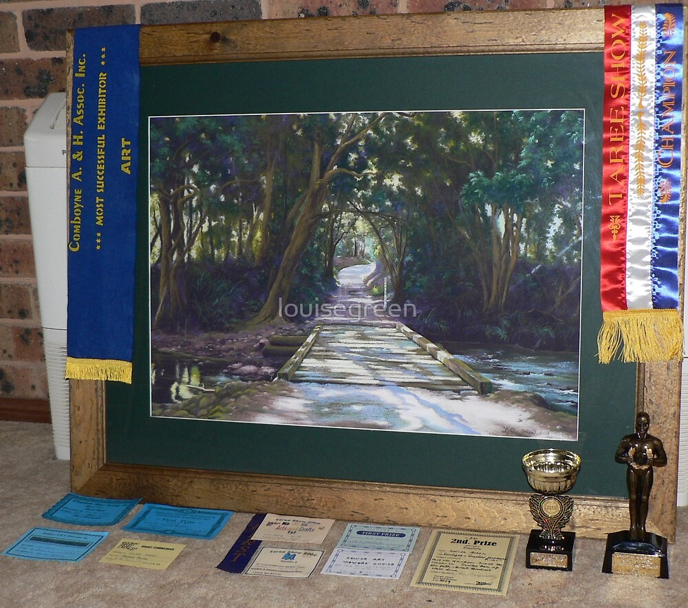 Recent awards at the local shows by louisegreen