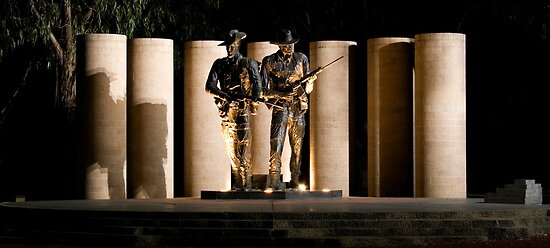 """Australian Army National Memorial""  by Paul Dean"