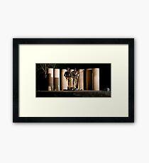 """Australian Army National Memorial""  Framed Print"