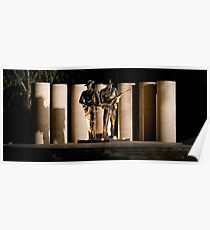 """Australian Army National Memorial""  Poster"