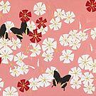 Pink shadows by Trudi Hipworth