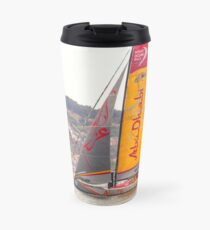 Abu Dhabi. Volvo Ocean Race team 2015. Lisbon. Portugal Travel Mug
