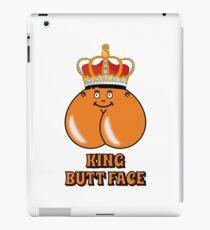 King Butt Face iPad Case/Skin