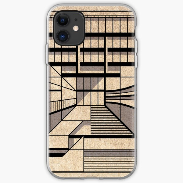Birmingham Central Library iPhone Soft Case