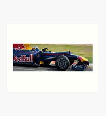 Sebastian Vettel Art Print