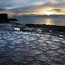 Volcanic Jigsaw at sunrise by tasadam