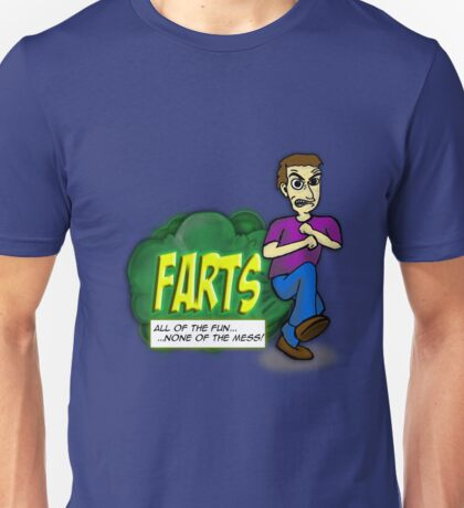 Farts - All the Fun.....None of the Mess! 2 T-Shirt
