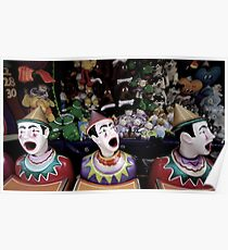 Clowns and Carnivals Poster