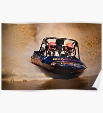 """Conti Racer"" - V8 Jetboat Poster"