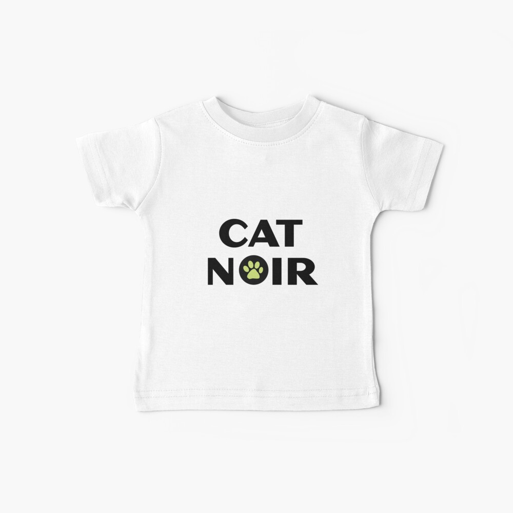 Miraculous Black Cat Noir Baby T-Shirt