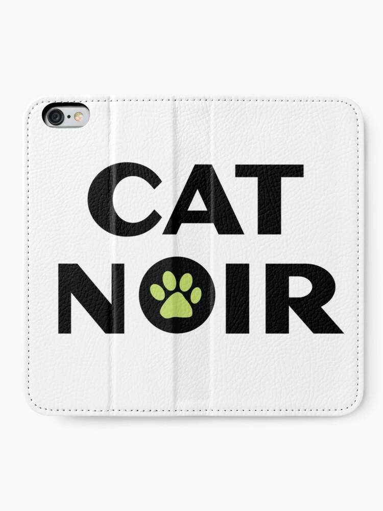 Alternative Ansicht von Miraculous Black Cat Noir iPhone Flip-Case