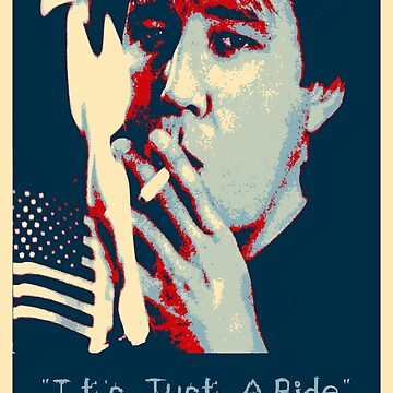 Bill Hicks - It's Just A Ride Tee by FreakMonkey