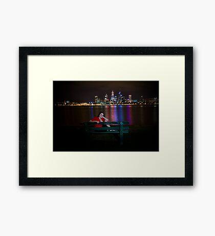 Night  Portrait Framed Print