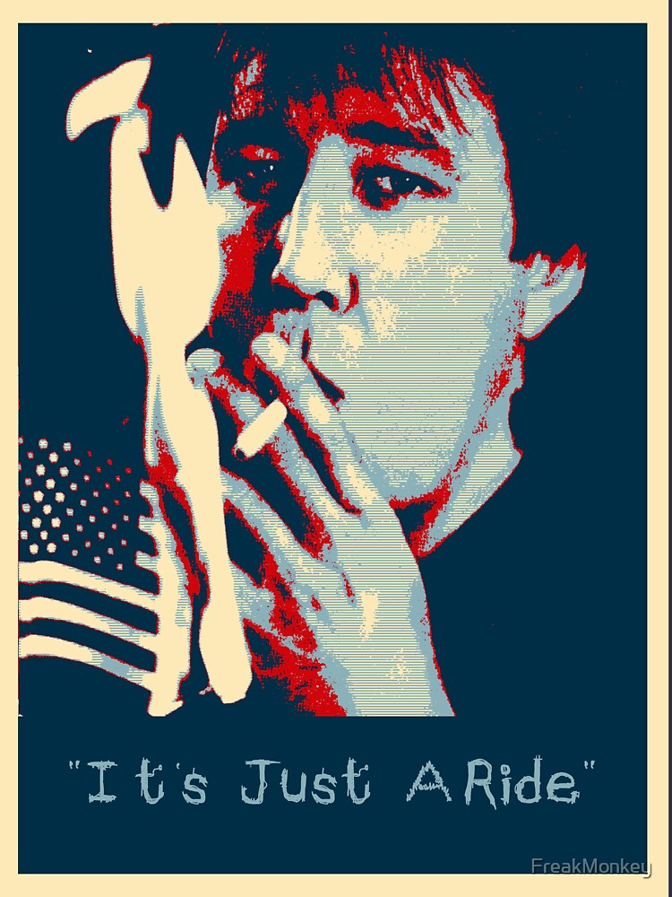 Bill Hicks - It's Just A Ride Tee   Unisex T-Shirt