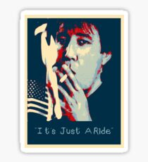 Bill Hicks - It's Just A Ride Tee Sticker