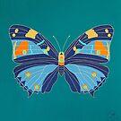 Turquoise Emperor by Trudi Hipworth
