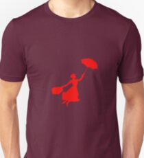 Red Miss Poppins  T-Shirt