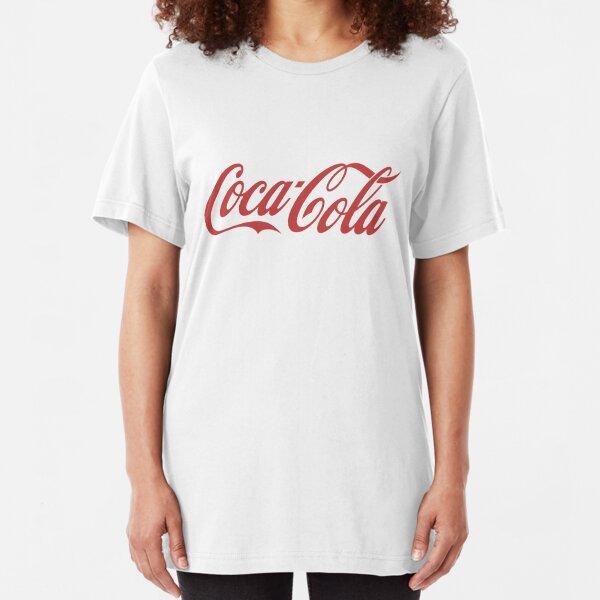 coca cola Slim Fit T-Shirt