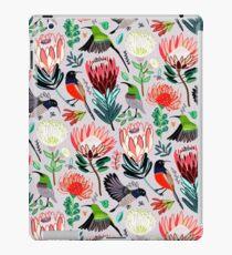Sunbirds & Proteas auf Grau iPad-Hülle & Skin