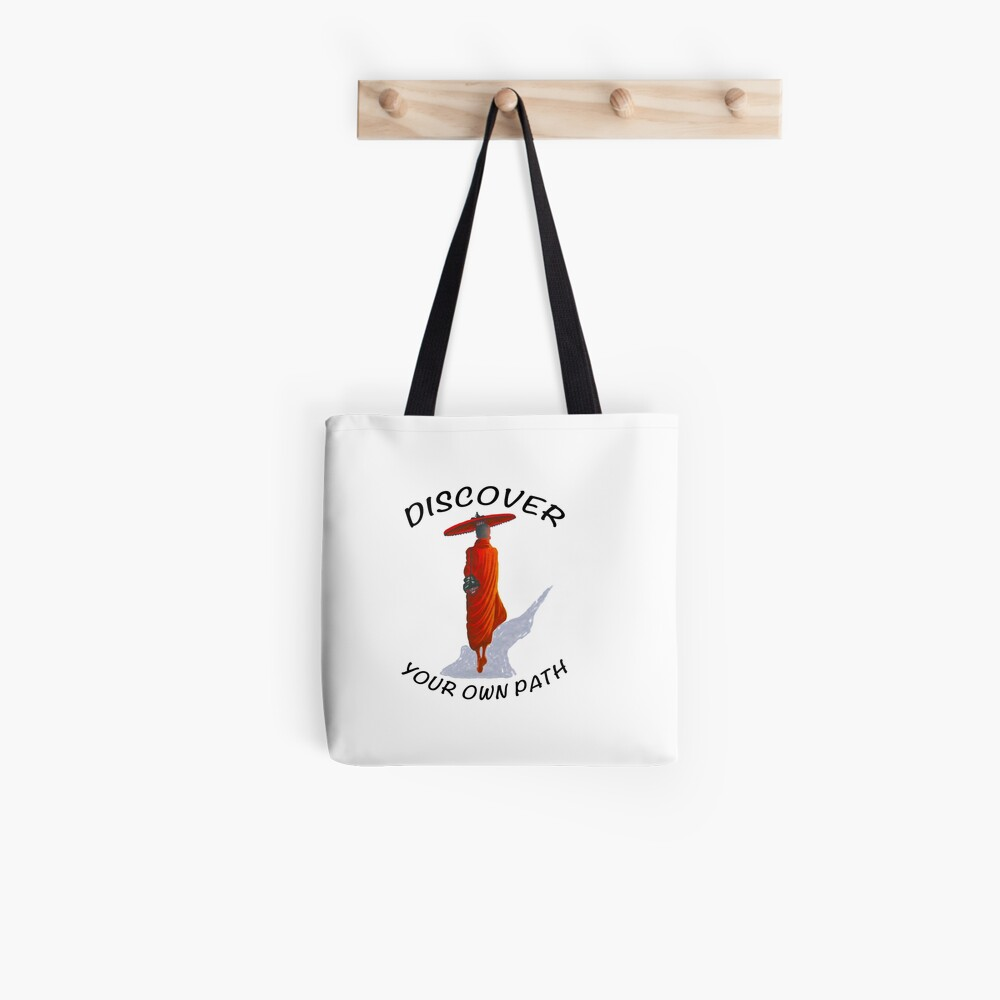 DISCOVER YOUR OWN PATH Tote Bag
