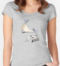 Old time music Women's Fitted Scoop T-Shirt