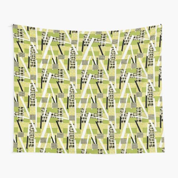 Bauhaus Patchwork green Tapestry