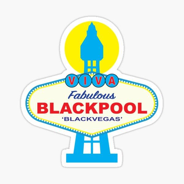 BLACKPOOL 'BLACKVEGAS' Sticker