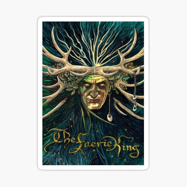 Faerie King von Stuart Littlejohn Sticker