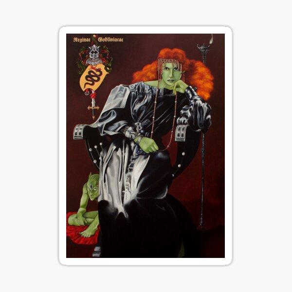 Goblin Queen von Stuart Littlejohn Sticker