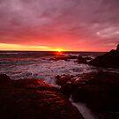 Sunset @ Corbierre - Jersey by lallymac