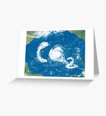 CO2-Clouds Greeting Card