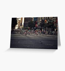 GranFondo Competition - Vancouver Greeting Card