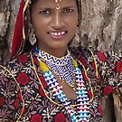Young Tribal Lady- Rajasthan by Mukesh Srivastava
