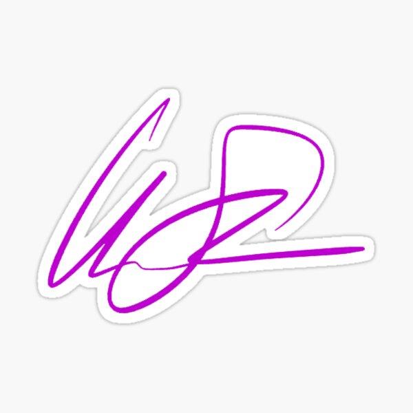 Signature Sticker Sticker