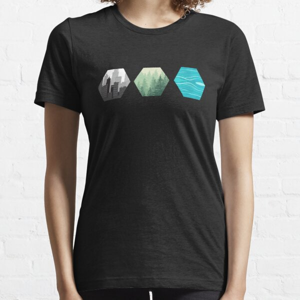 Terraforming Mars Resource Tiles Board Game Graphic - Tabletop Gaming Essential T-Shirt
