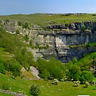 Malham Cove - Yorks Dales (Pano) by Trevor Kersley