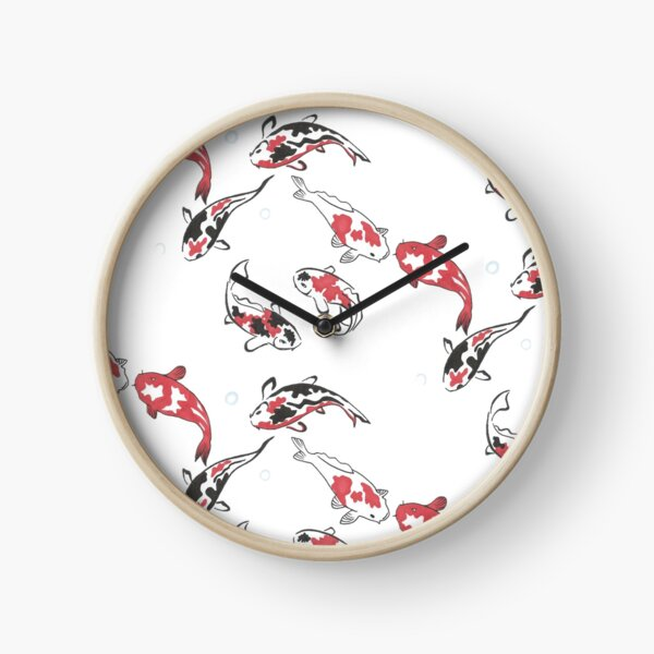 Koï Horloge