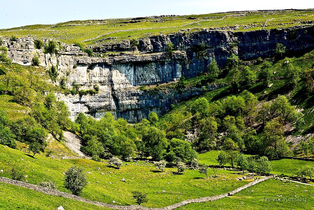 Malham Cove - Yorks Dales #1 by Trevor Kersley