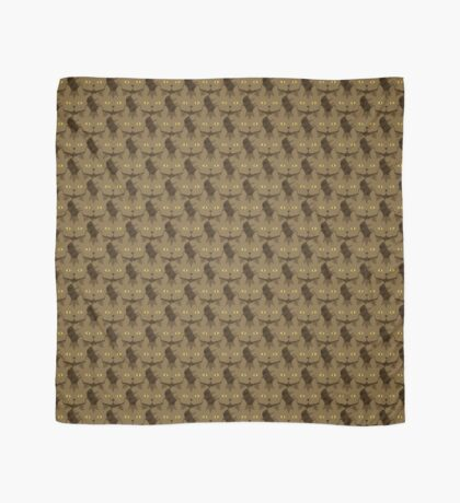 Cocoa Brown Tabby Cat Cattern [Cat Pattern] Scarf