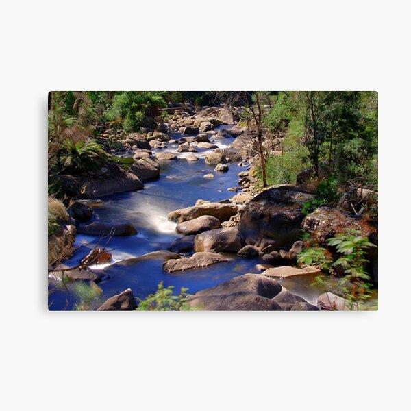 Fainter Falls Downstream Canvas Print