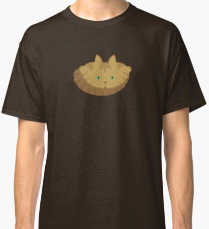 Latté Brown Tabby Cat Cattern [Cat Pattern] Classic T-Shirt
