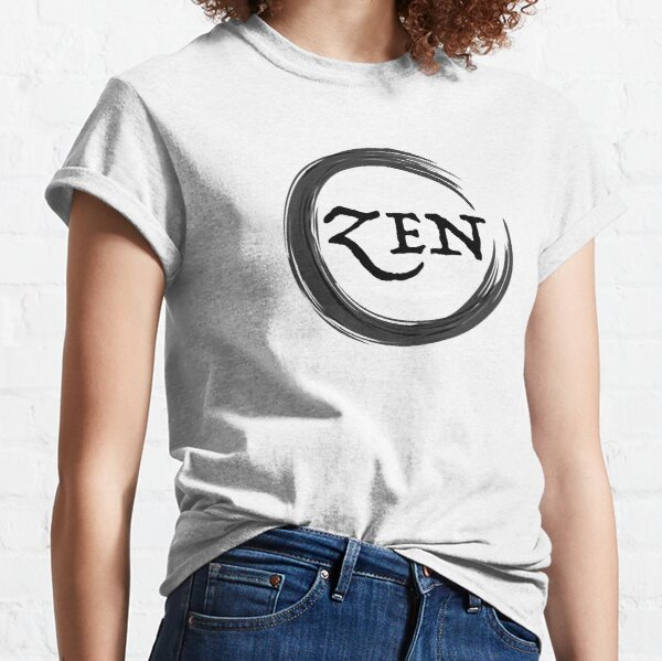 Zen Symbol black Classic T-Shirt