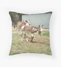 Mother & Foal Throw Pillow
