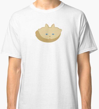 Frappé Brown Cat Cattern [Cat Pattern] Classic T-Shirt